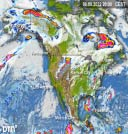 Clouds-Precipitation North America